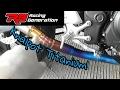 Cara Membirukan Knalpot Titanium Knalpot R9 H2 di Yamaha MT25