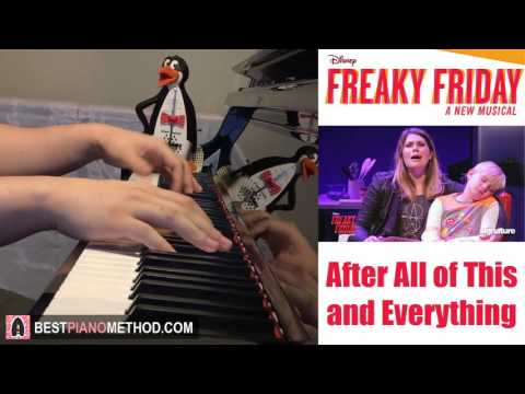 Freaky Friday: A New Musical  After All of This and Everything Piano   Amosdoll