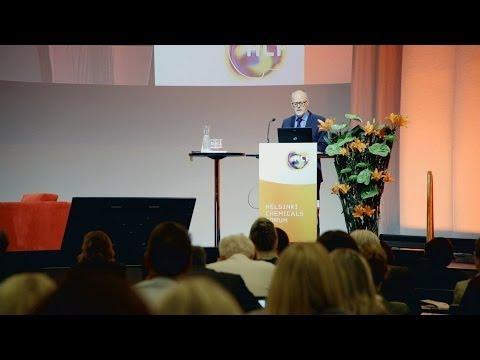 Helsinki Chemicals Forum 2014 at Messukeskus