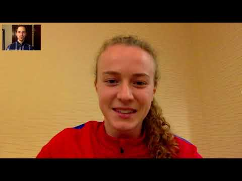 Chat with April Bockin training with the U 23 WNT at the Portland Invitational
