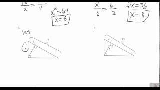 9.3 Altitude on Hypotenuse Theorems II