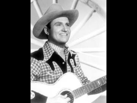 Gene Autry - Back In The Saddle Again (c.1940).