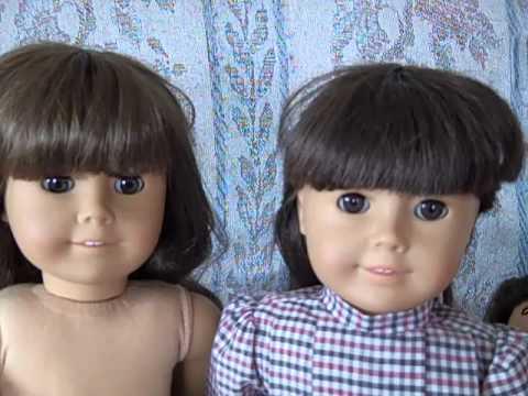 Differences Among The American Girl Samantha Dolls