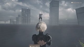nier automata where to find the pod in the flooded city