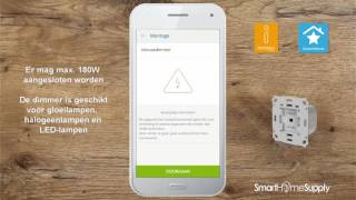 Dimmer toevoegen - Dimmer - innogy SmartHome 2.0