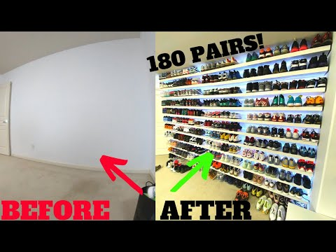 new-sneaker-display-wall!-(most-ikea-lack-shelves-ever-used?)