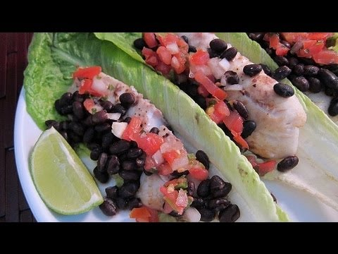 Recipe how to make lettuce wrap fish tacos main dish for How to make fish tacos