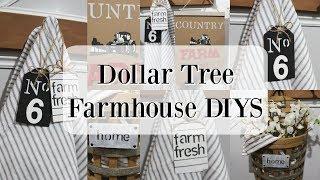 DOLLAR TREE FARMHOUSE DIYS
