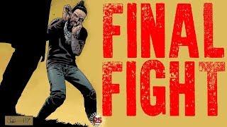 JESUS VS BETA? FINAL FIGHT - The Walking Dead Comic Issue 173 Cover