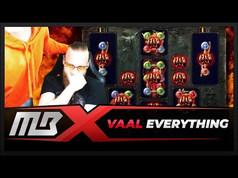PATH OF EXILE – VAALING A WHOLE CHARACTER? LET'S GOOO!