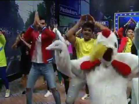 Yuk, chicken dance bersama artis-artis pesbukers,