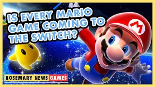 IS EVERY MARIO GAME COMING TO THE SWITCH? | Rosemary News: Games