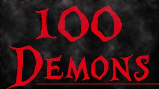 100 Demons ~ Wake up and Hate (lyrics)