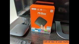 Cùng xem đầu Android MiBox4K tìm kiếm giọng nói mượt hơn Smart TV Sony như thế nào