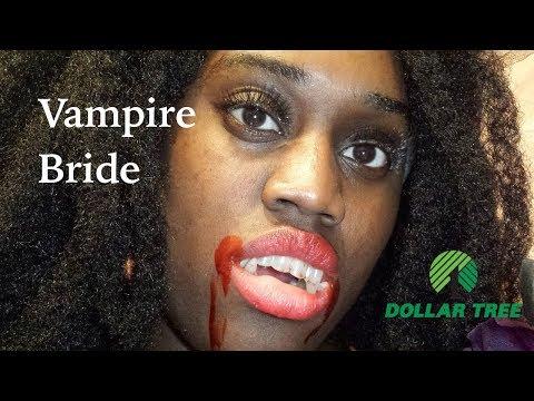 Vampire Bride - Easy & Inexpensive Last Minute Halloween Costume Ft. Dollar Tree | HYPNOTIC GLAMOUR