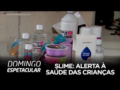 Slime provoca alerta à saúde das crianças