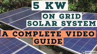 5 KW On Grid Solar System  - A…