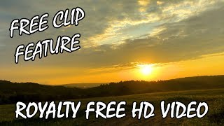 Free Clip Feature: HD SUNRISE TIME-LAPSE Free Stock Video Clips Royalty Free HD Video Footage 1080p