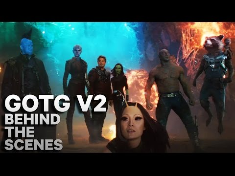 Cast of Guardians of the Galaxy Vol. 2 - Behind The Scenes