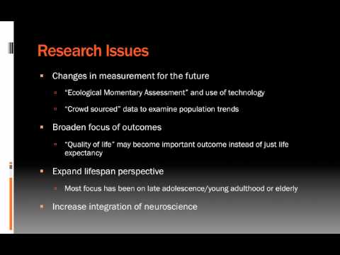 Lecture 14.2: The Future of Health Psychology AUDIO