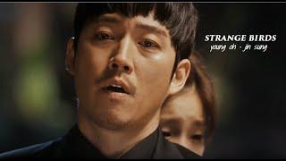 young oh/jin sung •• strange birds {beautiful mind, doctor frankenstein MV}