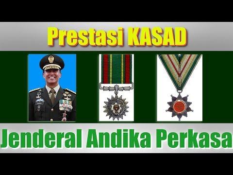 Prestasi yang dicapai KASAD Jenderal TNI Andika Perkasa dalam Dunia Militer