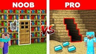 Minecraft NOOB vs PRO: SECRET ROOM in Minecraft!