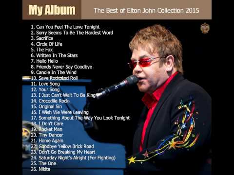 :: The Best of Elton John Collection 2015 ::