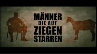 trailer deutsch THE MEN WHO STARE AT GOATS _ Männer die auf Ziegen Starren