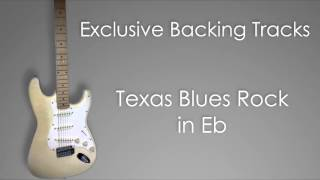 Backing Track - Texas Blues Rock in Eb / D# (Stevie Ray Vaughan SRV style)