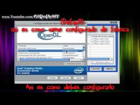 Dar Mayor Rendimiento A Las Tarjetas De Video Intel Graphics Media