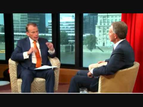 Tony Blair interview by Andrew Marr Best Bits