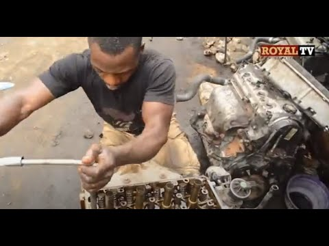 Meet Nigeria Local Car Engine Repairer