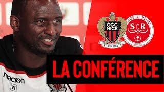 Nice-Reims : la conférence d'avant-match