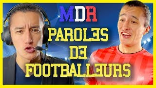 PAROLES DE FOOTBALEURS - MDR 107