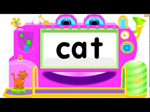 Starfall -at Word Family | Word Machines Game for Kids