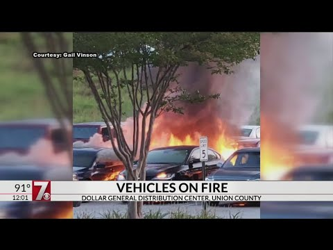 Vehicle Fires At Dollar General Distribution Center