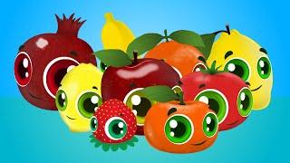 Sebzeler Meyveler - Edis ile Feris Çizgi Film Çocuk Şarkıları
