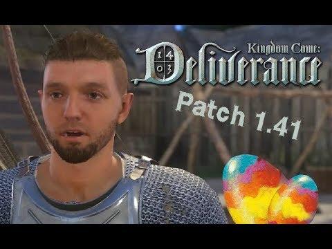 Kingdom Come Deliverance - EXTRA - HD Texturen, Bart und Haare Schneiden + X-Man Hand - Patch 1.4