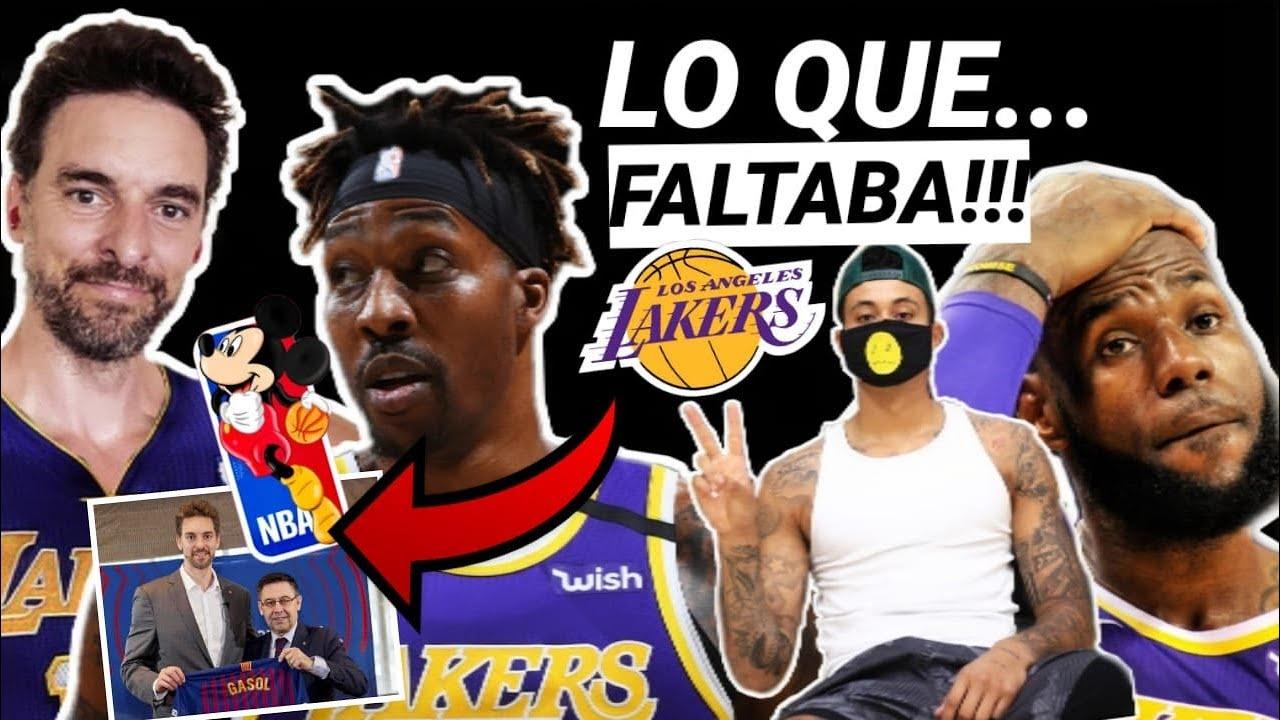 😱 NO TIENE SENTIDO!!! 🔥 LOCURA y ÚLTIMA HORA en LAKERS y PAU GASOL!!! 💥 NBA