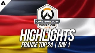 Germany vs Netherlands | Overwatch World Cup 2018 Paris Qualifier Day 1