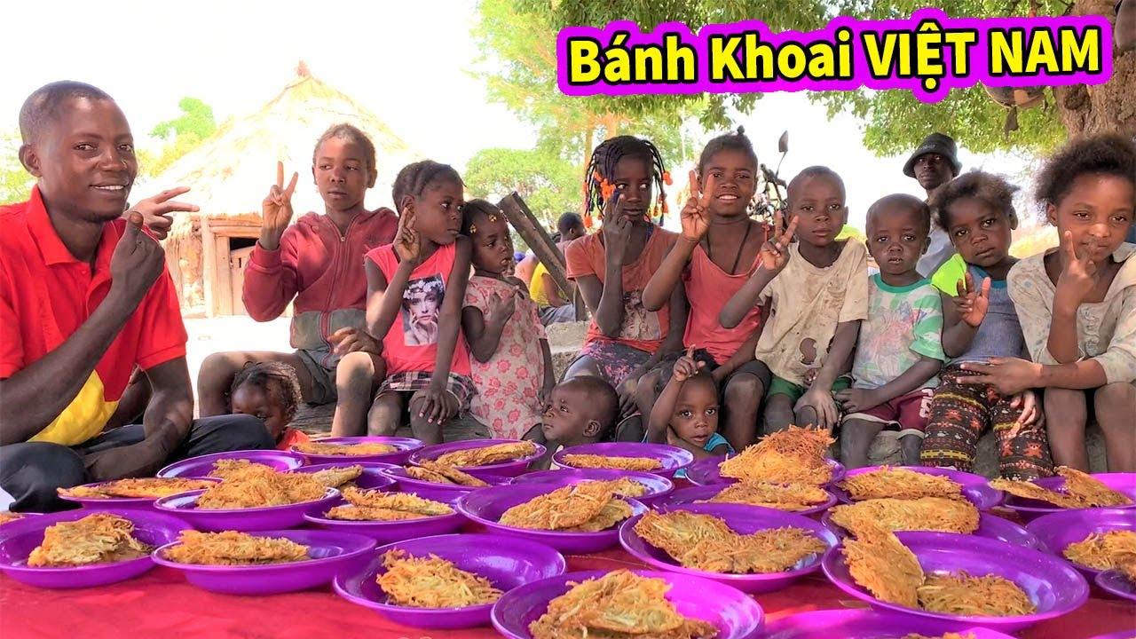 Ẩm Thực Châu Phi || Hướng Dẫn Người Dân Châu Phi Làm Món Bánh Khoai Ăn Hoài Không Ngán Của Việt Nam