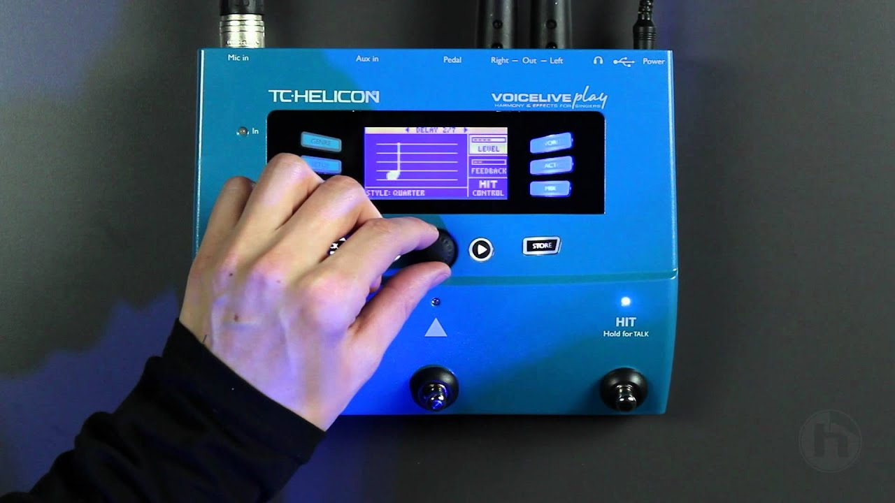 VOICELIVE PLAY | Multi-Effects | Vocal | TC Helicon