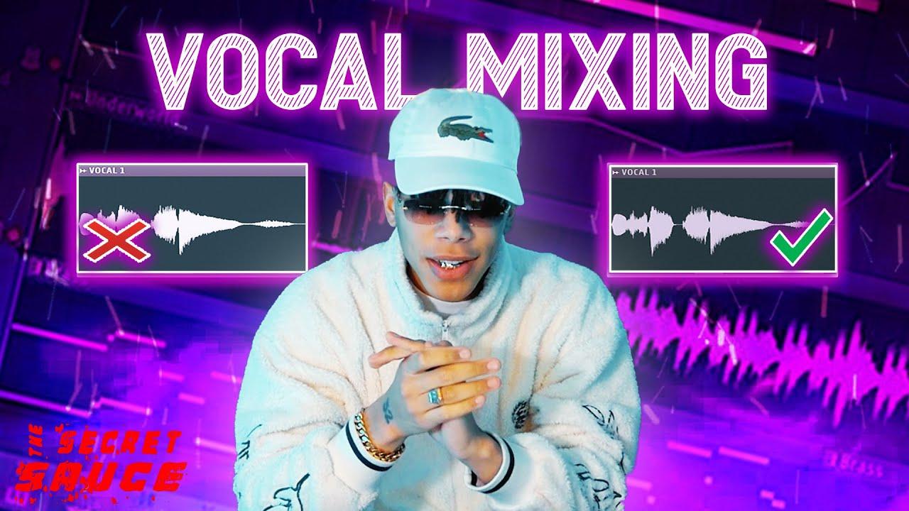 FL STUDIO VOCAL MIXING TUTORIAL FOR BEGINNERS | Secret Sauce - Episode 4