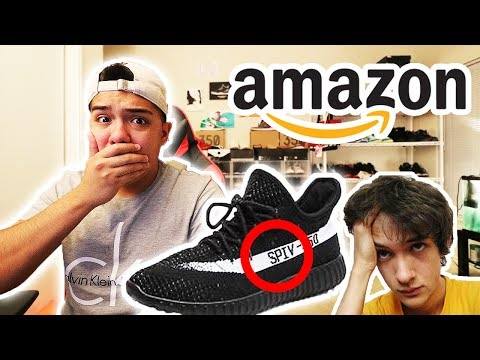 AMAZON HAS BEEN SENDING KIDS FAKE YEEZYS... **DON'T BE FOOLED**