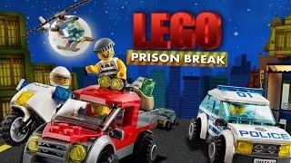 Lego Prison Break | The Lego Movie | Lego Jail Break | Lego Stop Motion | Stop Motion Videos