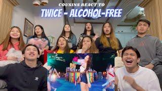 Download lagu COUSINS REACT TO TWICE