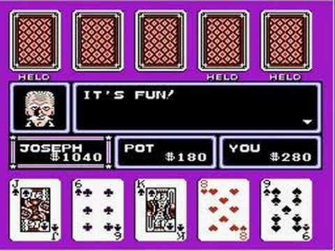 NES Game Review:  Casino Kid