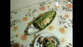 """Долгожданный салат """" Экзотика"""""""