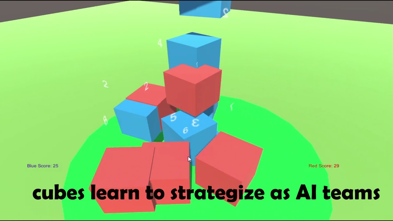Machine Learning Cube Fight
